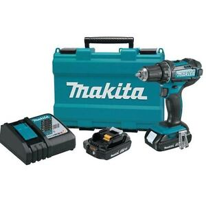 New Home Tool Durable 18 Volt Compact Lithium Ion Cordless Driver Drill Kit