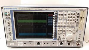 Rohde schwarz Spectrum Analyzer 9 Khz 3 5 Ghz Fsea W option Fse b4