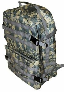 Waterproof Tactical Camo Backpack Carry Book Bag or Paintball Gear Bag $14.95