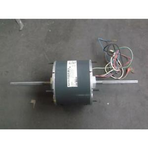 Genteq 771242525 s50005480 1 3 1 4 1 6 Hp Electric Motor 277 Volt Double Shaft