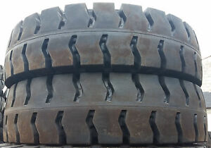 2 Tires 12 00 20 Advance Solid Forklift Tire 12 00 20 8 0 Rw No Flats 120020