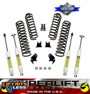 2007 2018 Jeep Wrangler Jk 2 5 Superlift Suspension Lift Kit Fits 2 Door 4x4