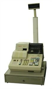 Sanyo Model Ecr635 Cash Register 08603