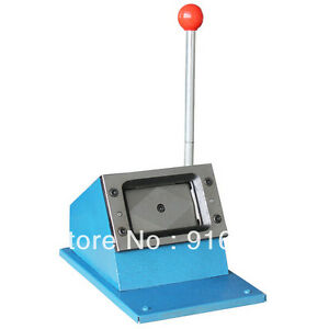 Heavy 86x54mm Id Busines Criedit Pvc Paper Card Rounder Corner Punch Die Cutter