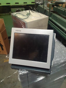 Micros 400448 Terminal Point Of Sale Pos System 12 1 Touch Screen Ultra 12ds