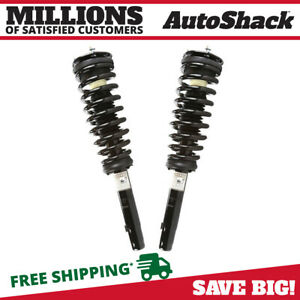 Front Pair 2 Complete Strut Assembly W Coil Spring Fits 2010 2012 Ford Fusion