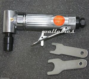 New 1 4 Air Angle Die Grinder Cutting Air Tools W 2 Wrench