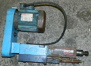 Suhner Monomaster Drilling Unit W 1 Hp Suhner Ac Drive Motor 230 460 V Used