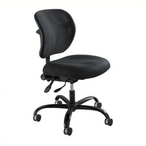 Safco Vue Mesh Big And Tall Office Chair In Black