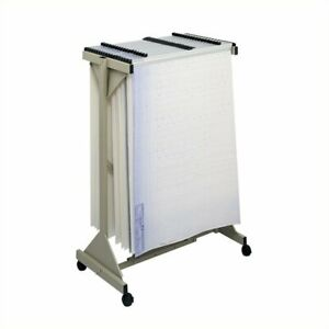 Filing Cabinet File Storage Mobile Plan Center Metal Hanging Files Stand In Sand
