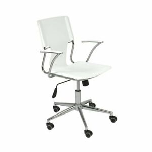 Office Chair For Computer Desk Executive Task Modern In White