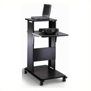 Mayline Steel Multimedia Presentation Stand Transitional Lectern