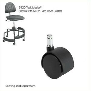 Safco Task Master Hard Floor 2 Casters Transitional Office Chair Accessories