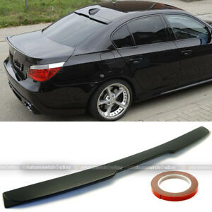 Fit 04 09 Bmw E60 A C Style Unpainted Rear Window Roof Wing Spoiler Visor