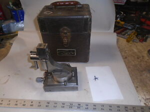 Machinist Lathe Mill Machinist J S Tool Radius Dresser Fixture For Grinding Sd