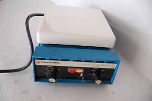 Fisher 210t Hotplate Stirrer Magnetic Hot Plate Ceramic 7x7 Heating