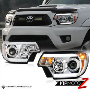 Tribal Edition 2012 2015 Toyota Tacoma Prerunner Chrome Neon Tube Headlights