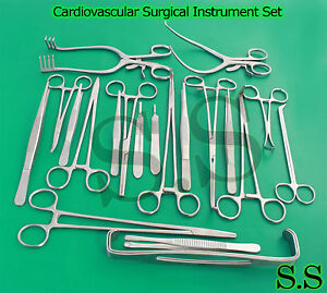 99 Pieces Cardiovascular Surgical Instrument Set Ds 1006