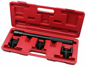 4pc Inner Tie Rod Removal Set Mechanics Installation Tool Dual Socket Adaptor