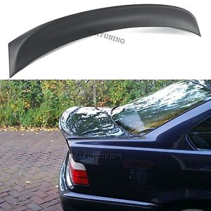 Rear Jdm Boot Trunk Ducktail Spoiler Wing Lid Lip Fits Bmw E36 Sedan And Csl