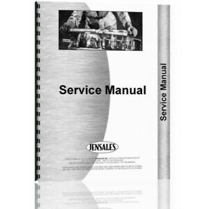 Ford 8000 8600 9000 9600 Tractor Service Manual fo s 8000