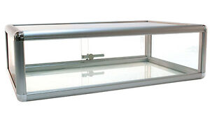 Countertop Showcase Retail Store Merchandise Display 30 lx18 wx9 h Usa Made New