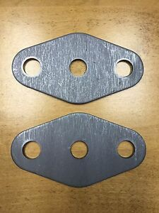 32 Ford Frame Rails Rear Support Plates