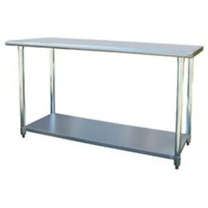 Buffalo Tools Sportsman Series Stainless Steel Work Table 24 X 60 Sswtable60