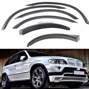 Extended Fender Flares Wheel Arch Extension Arches Trims Set Fits Bmw E53
