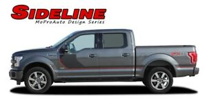 2016 2017 2018 Ford F 150 Sideline Special Ed Side Stripes Vinyl Graphic Decals
