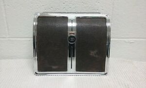 1967 Buick Riviera Rear Seat Radio Speaker Grille With Emblem