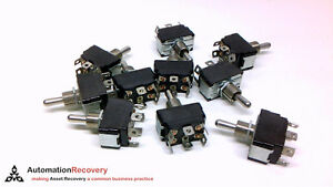 Und Lab Inc 3465 Pack Of 10 Toggle Switch 10a 250v 6 Pin 3 4hp 212453