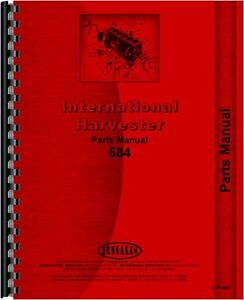 International Harvester 584 Tractor Parts Manual Ih p 584