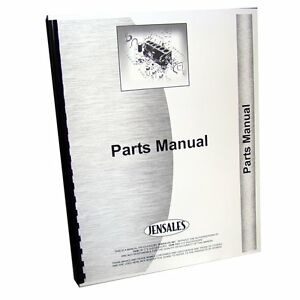 International Harvester Engine Parts Manual