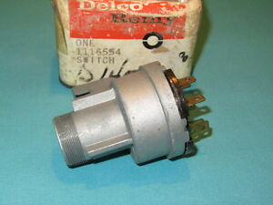 Nos 1959 Oldsmobile Passenger Ignition Switch Delco Remy
