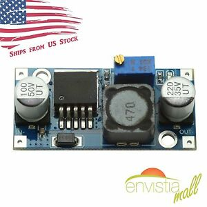 Dc dc 1 25 35v Out Lm2596 Buck Converter Step down Power Supply Module Us Stock