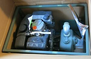 American Marsh Novo 1 5 Lse 65 Gpm Self prime Diesel Power Water Pump Military