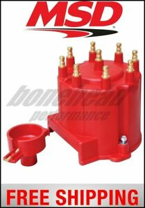 Msd Ignition Distributor Cap And Rotor Gm External Coil