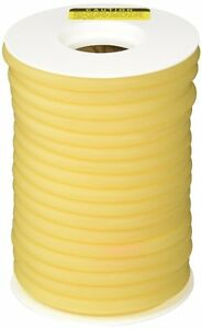 50 Feet 3 8 I d X 3 32 Wall Surgical Latex Tubing Amber Rubber Heavy Duty
