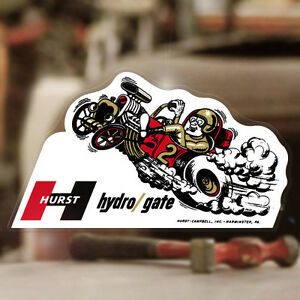 Hurst Hydrogate Sticker Decal Shifter Old School Hot Rod Rat Blower 6 5