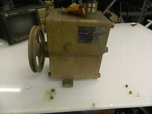 Ulvac Pvd 360 Rotary Oil Rotary Vacuum Pump Pump Only No Ac Motor Used