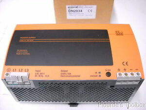 New Ifm Efector Power Supply 24vdc 20a Dn2034