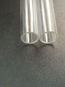 5 Tubes 5 75_6 Borosilicate Glass Blowing Tubing 17mm Od 13mm Id Thick Pyrex