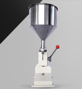 Manual Filling Machine 5 50ml For Cream Shampoo Cosmetic