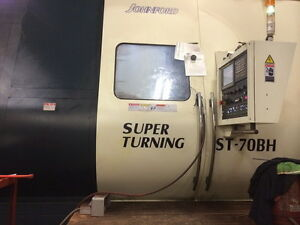 2014 Johnford Super Turning St 70 Bh Cnc Lathe W live Tool Y C Axis