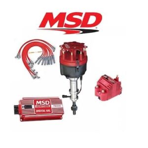 Msd 9117 Ignition Kit Digital 6al distributor wires coil Early Ford 289 302