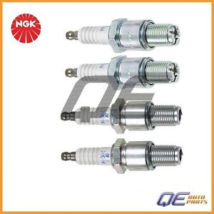 4 Ngk Japan Spark Plugs Re7cl Re9bt Leading trailing For Mazda Rx 8 2004 2011