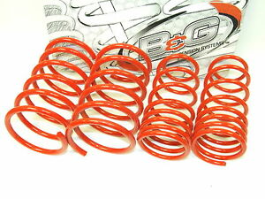 B G 62 1 011 S2 Lowering Springs For 84 89 Nissan 300zx Z31