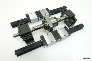 Actuator Unit Parts Used Ball Screw Lm Guide linear Bearing cnc Z Axis Route
