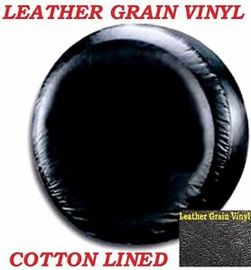 Lined Vinyl Spare Tire Cover 28 8 31 7 New Black 29 30 31 Leather Grain